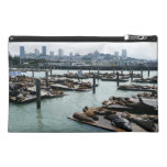 San Francisco and Pier 39 Sea Lions City Skyline Travel Accessories Bags