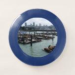 San Francisco and Pier 39 Sea Lions City Skyline Wham-O Frisbee