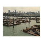 San Francisco and Pier 39 Wood Prints