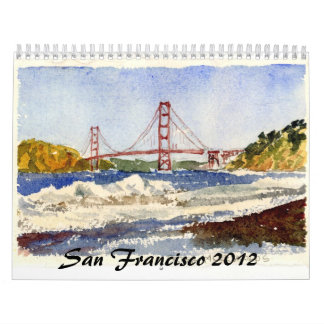 San Francisco and the Gate Wall Calendar