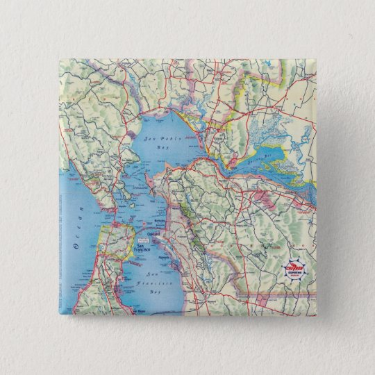 San Francisco and Vicinity Button