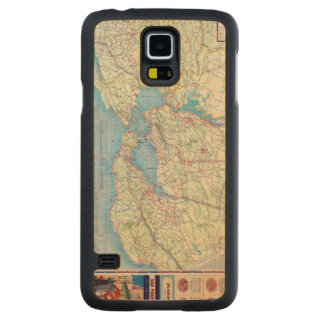 San Francisco and Vicinity Carved® Maple Galaxy S5 Case