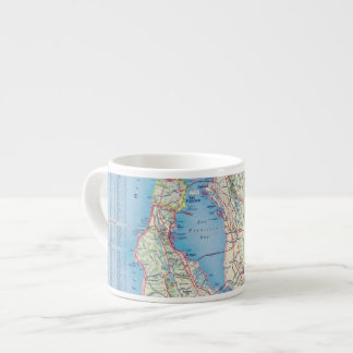 San Francisco and Vicinity Espresso Cup