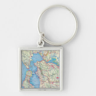 San Francisco and Vicinity Keychain