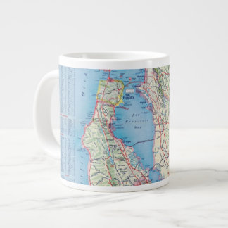 San Francisco and Vicinity Large Coffee Mug