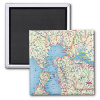 San Francisco and Vicinity Fridge Magnets