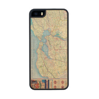 San Francisco and Vicinity Carved® Maple iPhone 5 Case