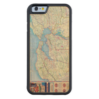 San Francisco and Vicinity Carved® Maple iPhone 6 Bumper Case