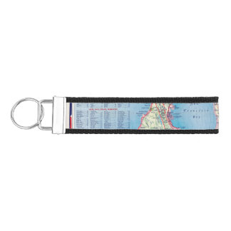 San Francisco and Vicinity Wrist Keychain