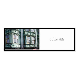 San Francisco Architecture Double-Sided Mini Business Cards (Pack Of 20)