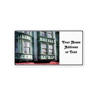 San Francisco Architecture Custom Address Label