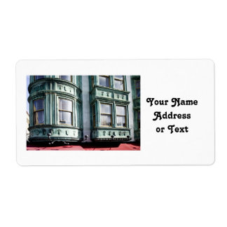 San Francisco Architecture Custom Shipping Labels