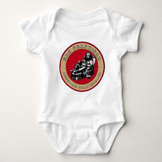 San Francisco Armchair Quarterback Baby Shirt