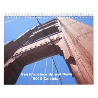 San Francisco arriba y abajo del calendario 2012