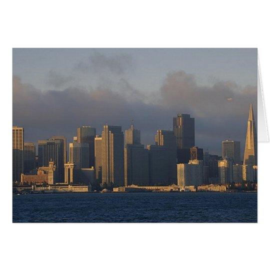 San Francisco as the Fog Lifts Card