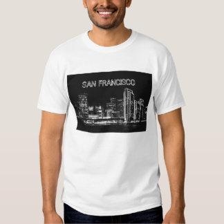 San Francisco at night T-shirt