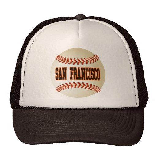 SAN FRANCISCO BASEBALL TRUCKER HAT