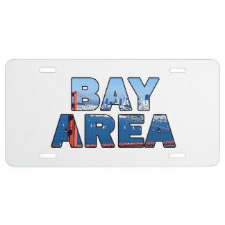 San Francisco Bay Area License Plate