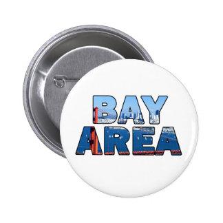 San Francisco Bay Area Pinback Button
