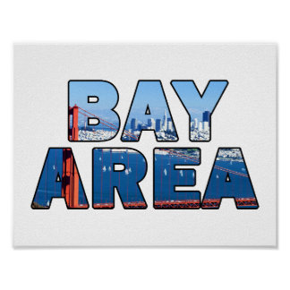 San Francisco Bay Area Poster