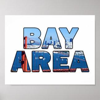 San Francisco Bay Area Poster