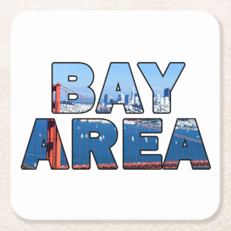 San Francisco Bay Area Square Paper Coaster