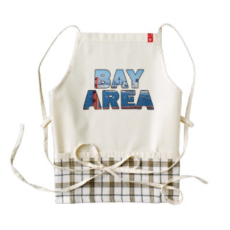 San Francisco Bay Area Zazzle HEART Apron