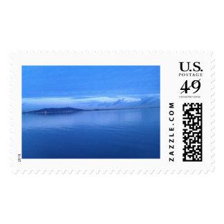 San Francisco Bay at dawn Postage Stamp