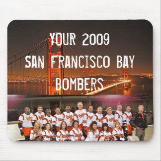 San Francisco Bay Bombers Mousepads 1