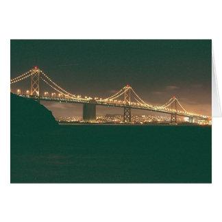 San Francisco Bay Bridge Card