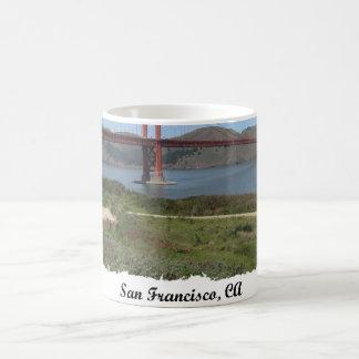 San Francisco Bay Bridge Classic White Coffee Mug