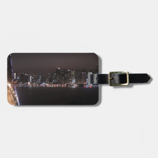San Francisco Bay Bridge Luggage Tag