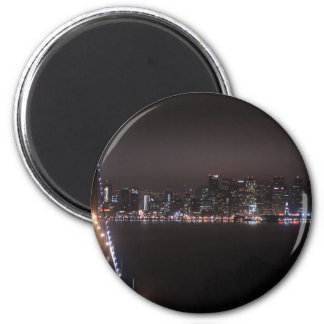 San Francisco Bay Bridge Magnet