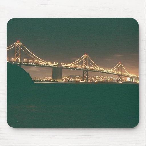 San Francisco Bay Bridge Mouse Mats