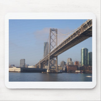 San Francisco bay bridge on a sunny morning Mouse Pad
