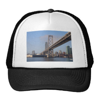San Francisco bay bridge on a sunny morning Trucker Hat