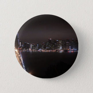 San Francisco Bay Bridge Pinback Button