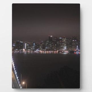 San Francisco Bay Bridge Plaque