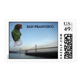 San Francisco Bay Bridge Postage Stamps