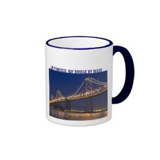 SAN FRANCISCO, BAY BRIDGE RINGER COFFEE MUG