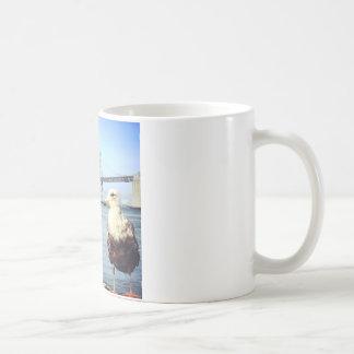 San Francisco Bay Bridge Seagull Coffee Mug