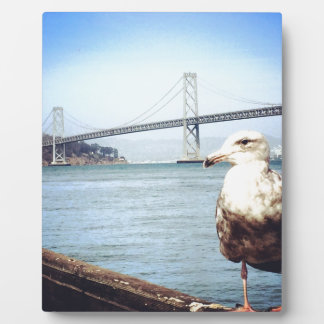 San Francisco Bay Bridge Seagull Plaque