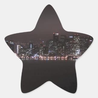 San Francisco Bay Bridge Star Sticker