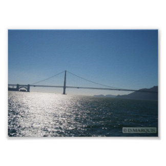 SAN FRANCISCO BAY-BY D.MARQUIS POSTER