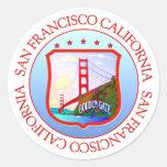 San Francisco Bay California Sticker