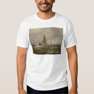 San Francisco Bay Felluca (1314) T-Shirt
