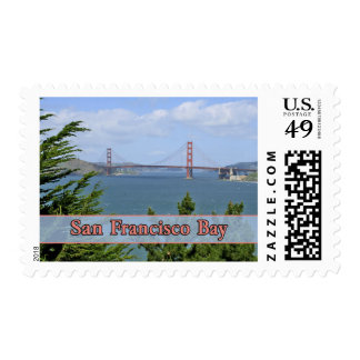 San Francisco Bay Postage Stamp