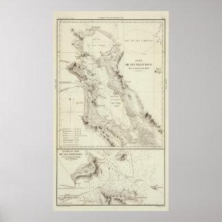 San Francisco Bay Póster