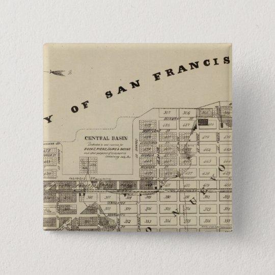 San Francisco Bay Salt Marsh Button
