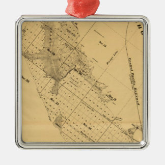 San Francisco Bay Salt Marsh Metal Ornament